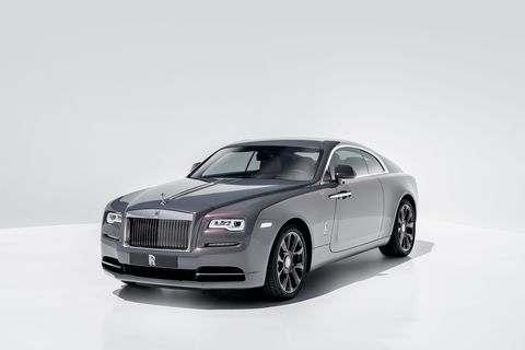 2020 Rolls-Royce Wraith front