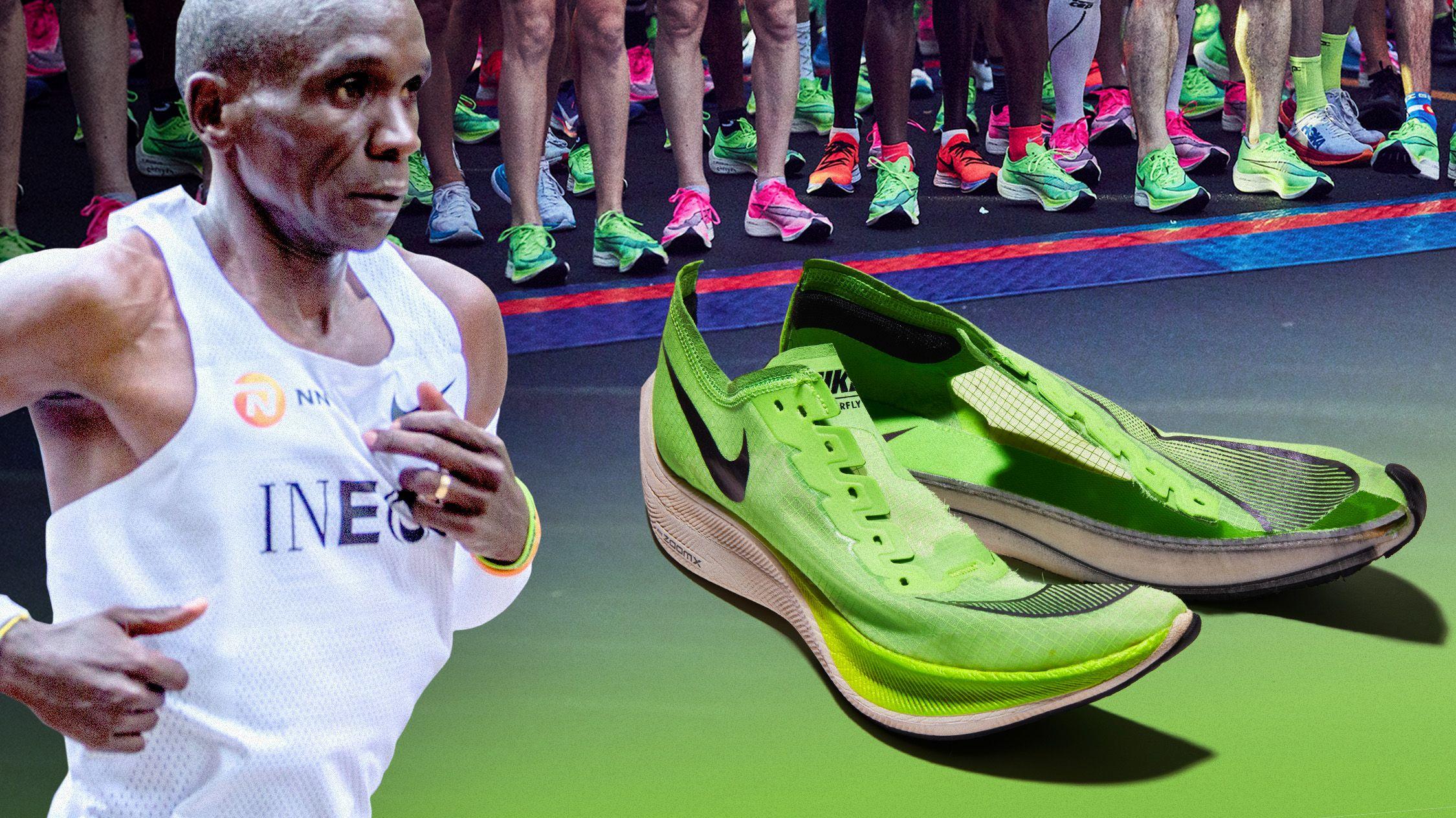Nike Vaporfly niet verboden, de Alphafly wel
