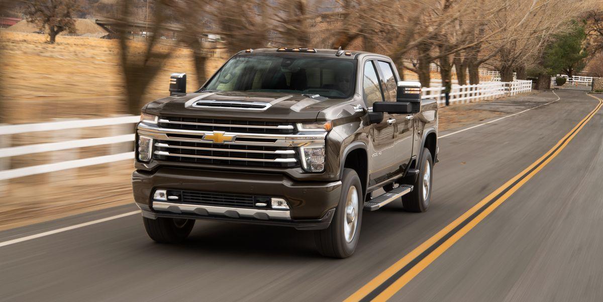 2020 Chevrolet Silverado HD - Heavy Duty Trucks Boast Big ...