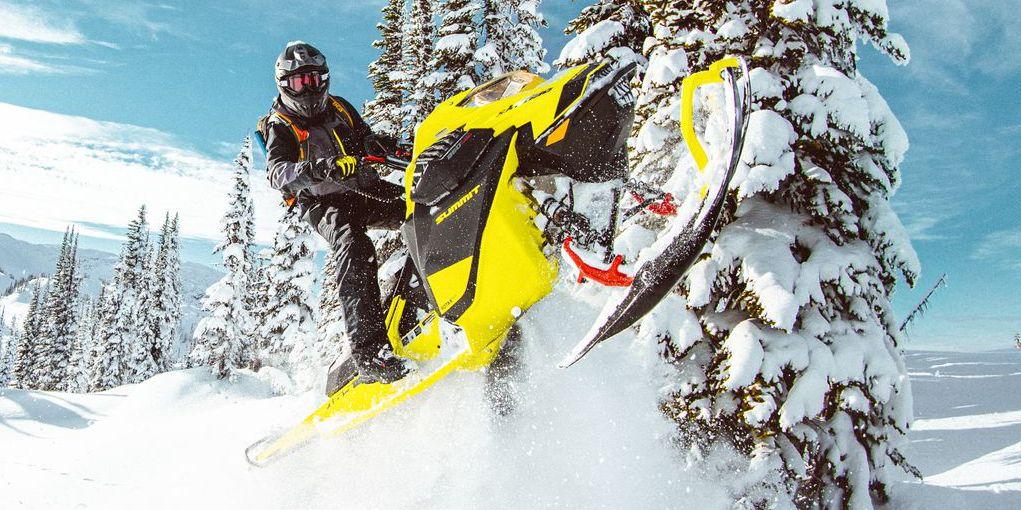 2020 Ski-Doo Summit 850 Turbo Finds Higher Ground