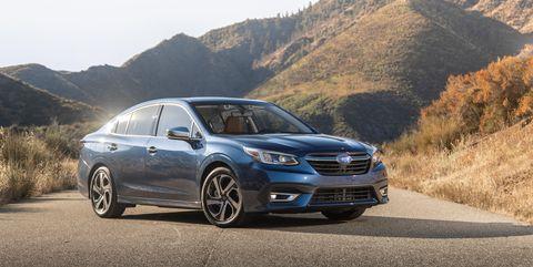 View Photos of the 2020 Subaru Legacy