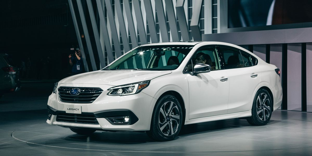 2020 Subaru Legacy Sedan – All-Wheel Drive, New Turbo ...