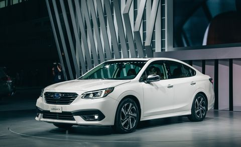 2020 Subaru Legacy Sedan All Wheel Drive New Turbo Large