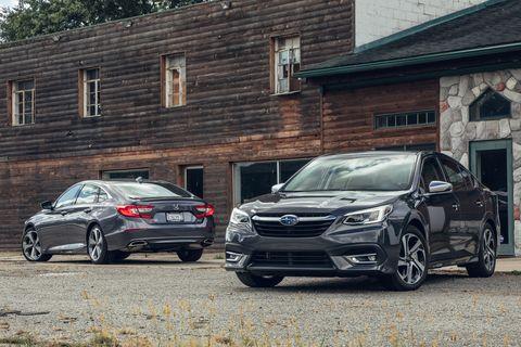 2020 Subaru Legacy vs. 2019 Honda Accord: Which is the ...