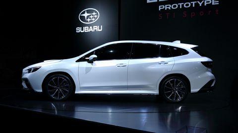 Subaru Levorg Prototype STI Sport