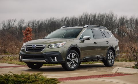 2020 subaru outback front