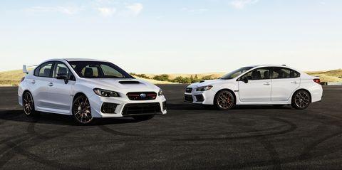2020 Subaru WRX, WRX STI Get Series.White Special Edition