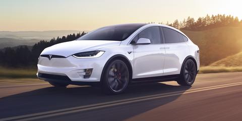 2020 Tesla Model X front
