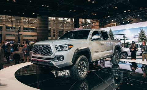 The 2020 Toyota Tacoma New Tech And Mild Styling Tweaks