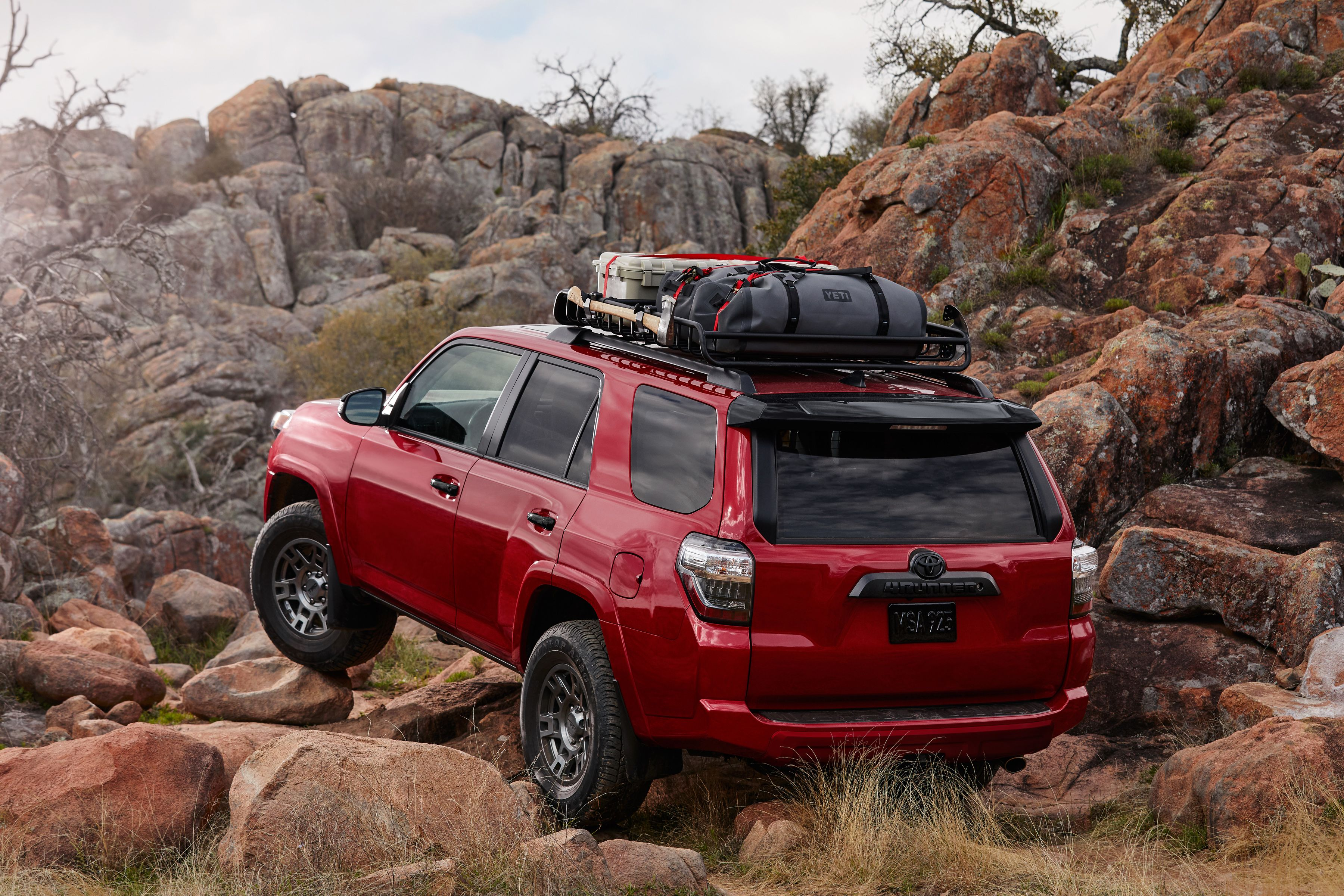 2020 Toyota 4runner Venture Edition Is For Overlanding Pack Rats
