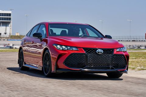 2020 Toyota Avalon TRD Is Still an Avalon, Just a Slightly Angrier One