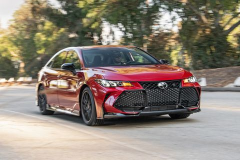 2020 Toyota Avalon TRD Is an Avalon in a Velour Track Suit