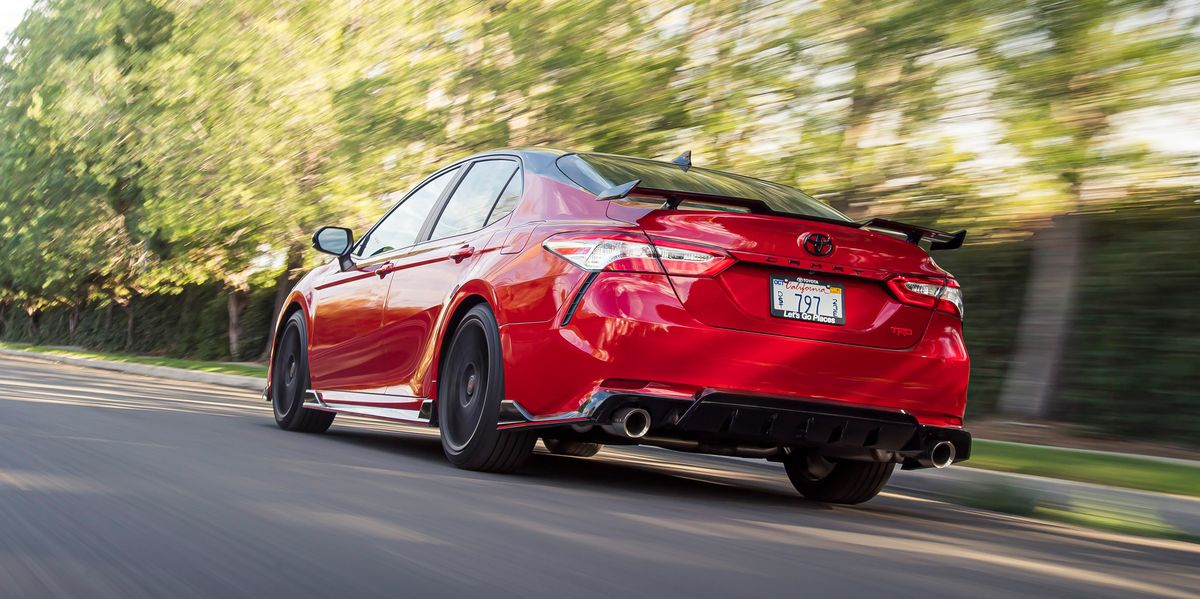 Toyota Camry TRD Challenges the Family Car Norm