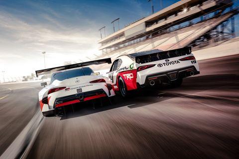 2020 Toyota Supra NASCAR XFINITY