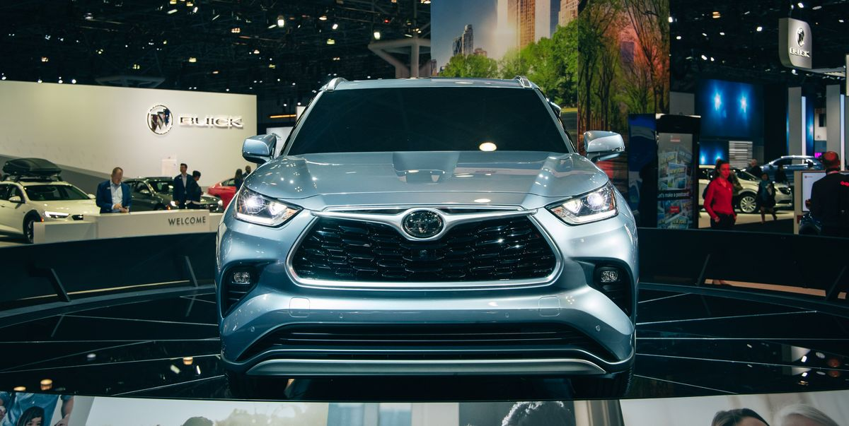 The 2020 Toyota Highlander Is Similar But Sharper