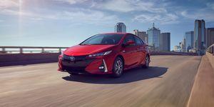 2020 Toyota Prius Prime driving