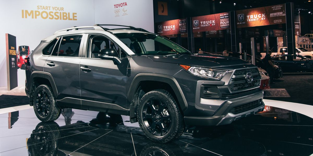2020 Toyota RAV4 TRD Off-Road – New Rally-Bred Suspension