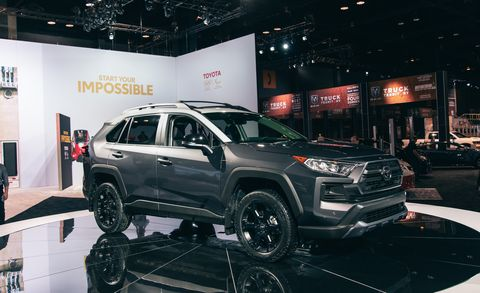 2020 Toyota RAV4: News, Options, Design, Release >> 2020 Toyota Rav4 Trd Off Road New Rally Bred Suspension