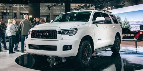 Toyota Sequoia Vs 4Runner >> 2020 Toyota Sequoia Trd Pro Details Price Specs And More