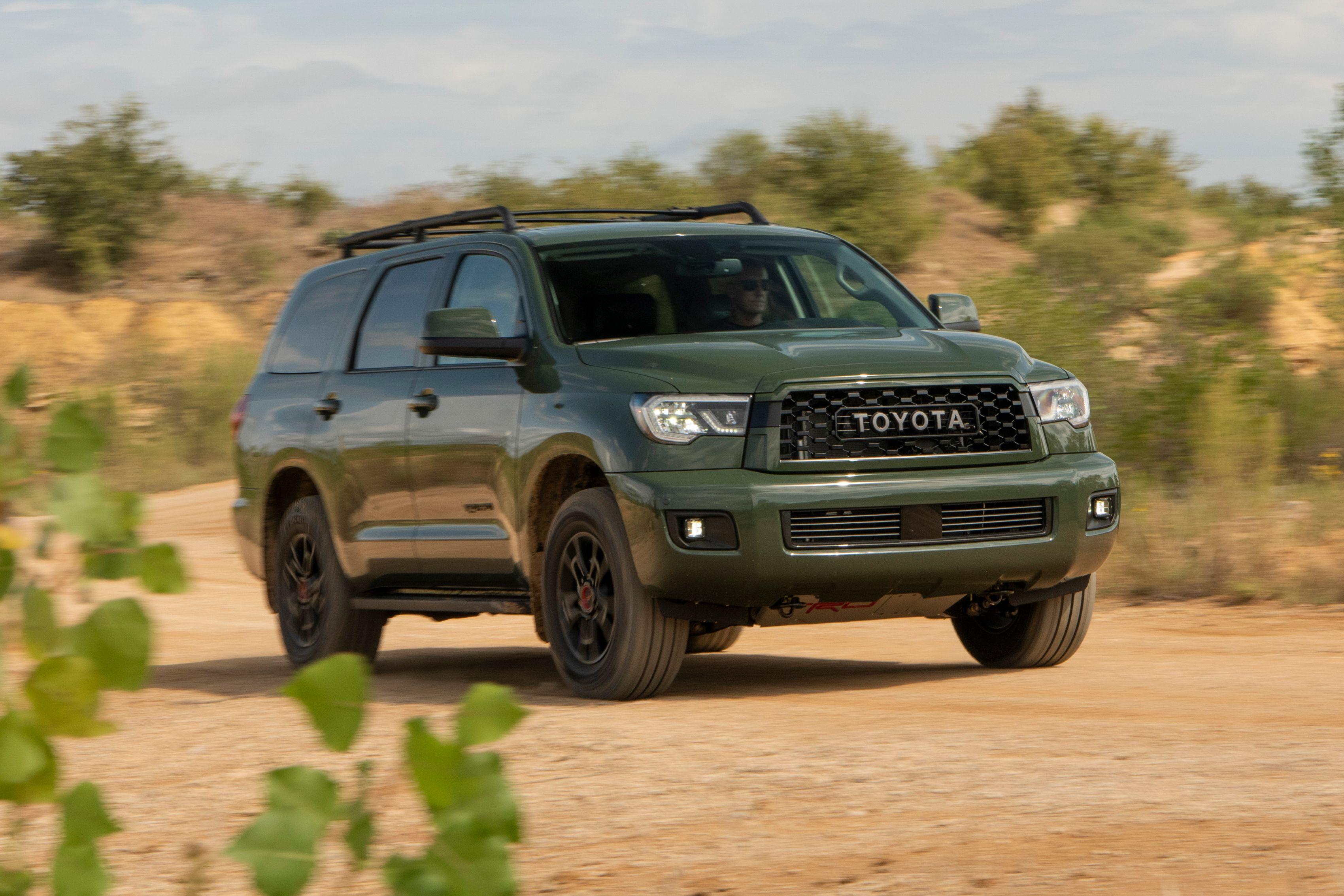 2020 Toyota Sequoias Style