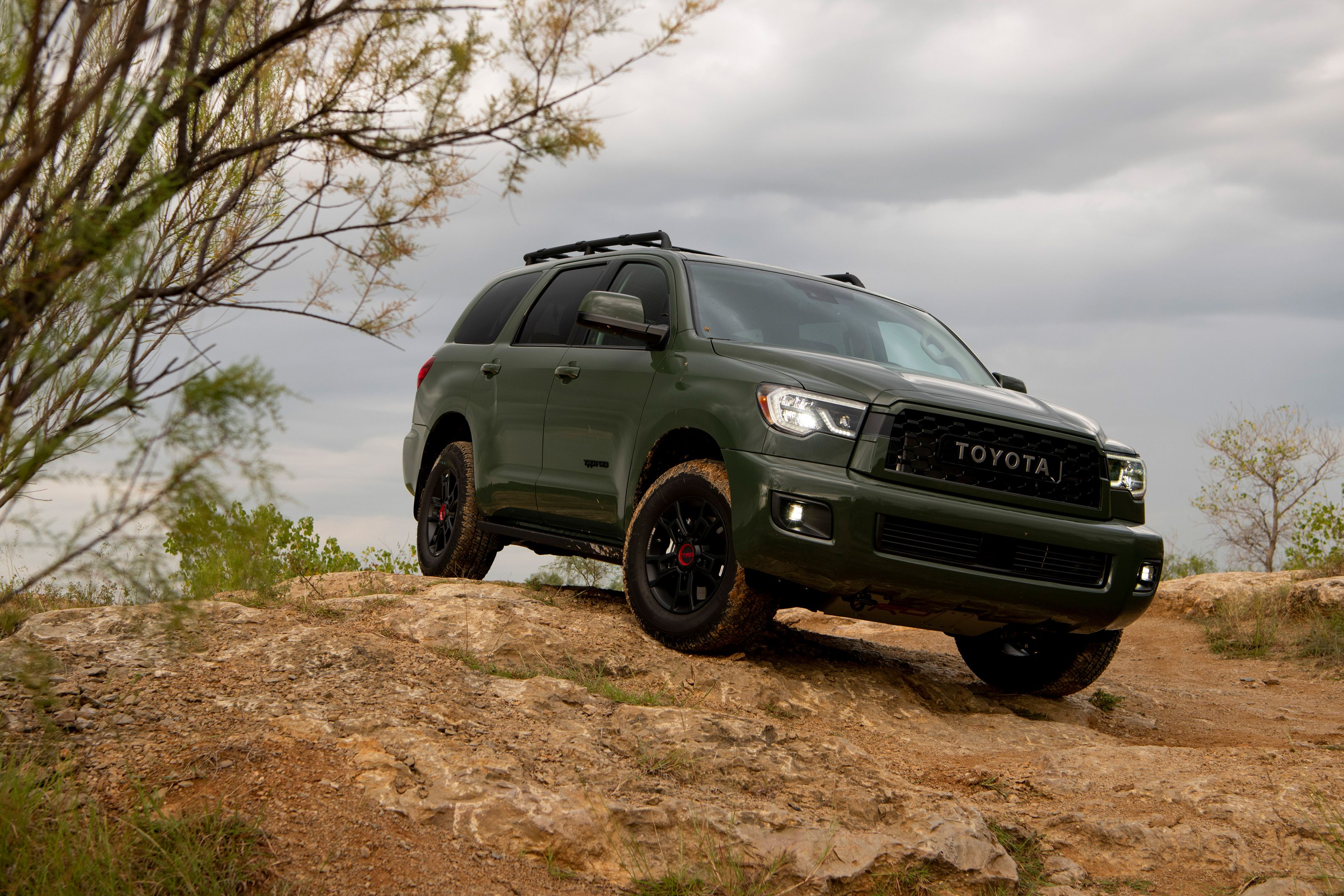 2020 Toyota Sequoia Trd Pro Breaks Its Own Trail