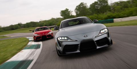 The New Toyota Supra Is A Proper Sports Car