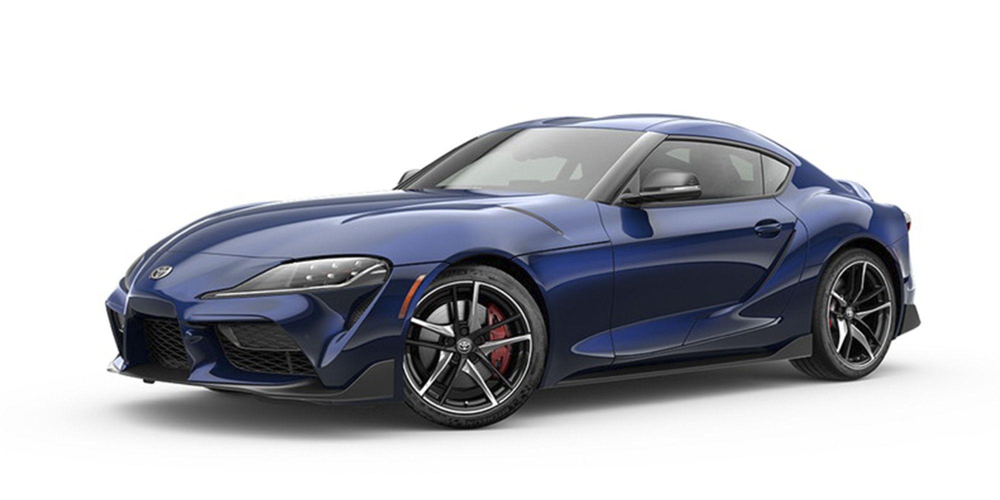 Toyota Supra 2020 Dark Blue