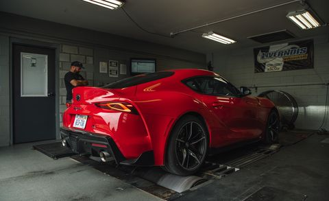 The 2020 Toyota Supra Makes More Power Than Toyota Claims