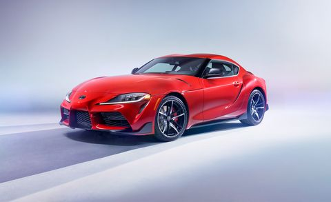 toyota supra   resurrected sports car