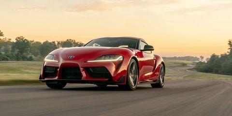Photos of the 2020 Toyota Supra Premium at Lightning Lap