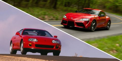 2020 Toyota Supra Vs 1993 Toyota Supra Turbo Performance Test