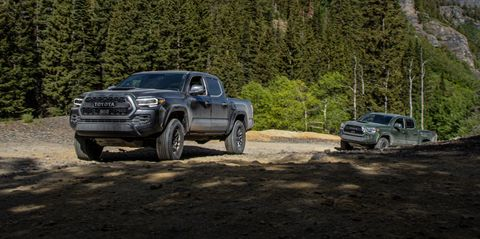 Tacoma Back Pages >> 2020 Toyota Tacoma Trd Pro Has A Rugged Split Personality