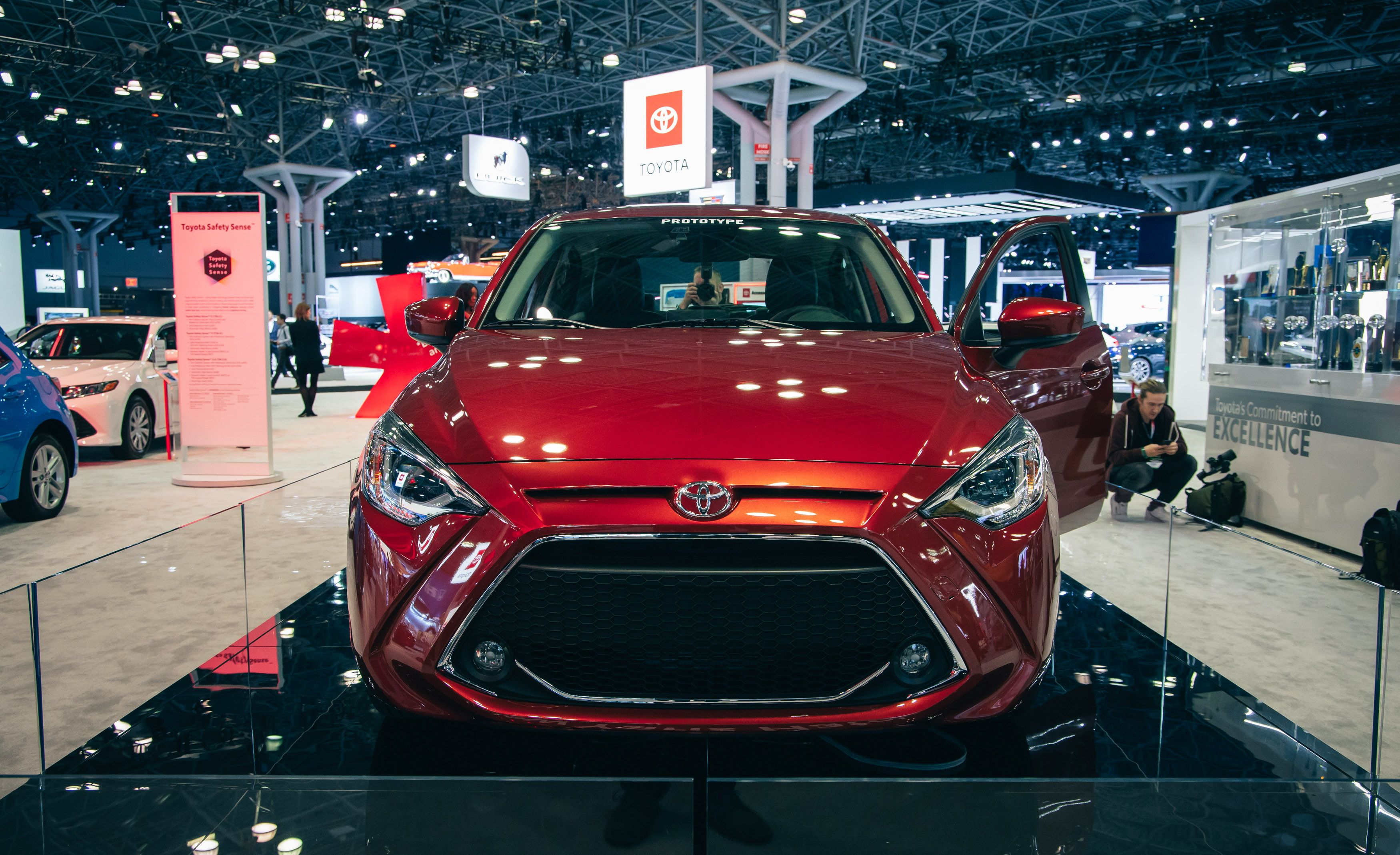 2020 Toyota Yaris Hatchback Subcompact Is A Rebadged Mazda 2