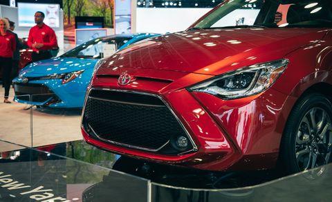 Land vehicle, Vehicle, Car, Motor vehicle, Automotive design, Mid-size car, Auto show, Bumper, Automotive exterior, Grille,