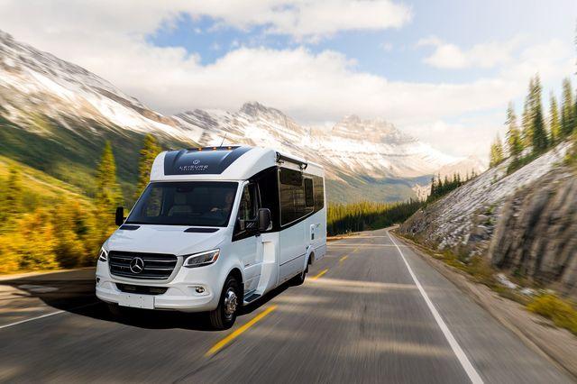 unity leisure travel van camper