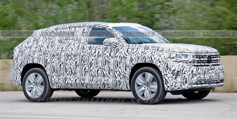 The Volkswagen Atlas Cross Sport Will Be A Sportier Two Row