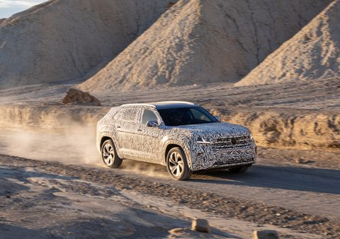 2020 VW Atlas Cross Sport, Changes, Price >> 2020 Volkswagen Atlas Cross Sport Prototype Mid Size Suv