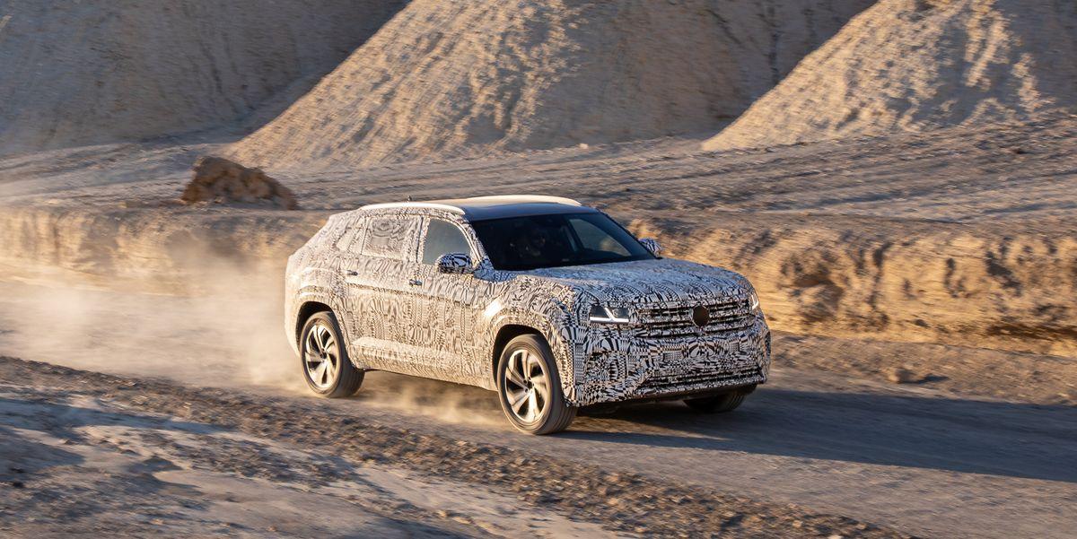 2020 Volkswagen Atlas Cross Sport Prototype Mid-Size SUV