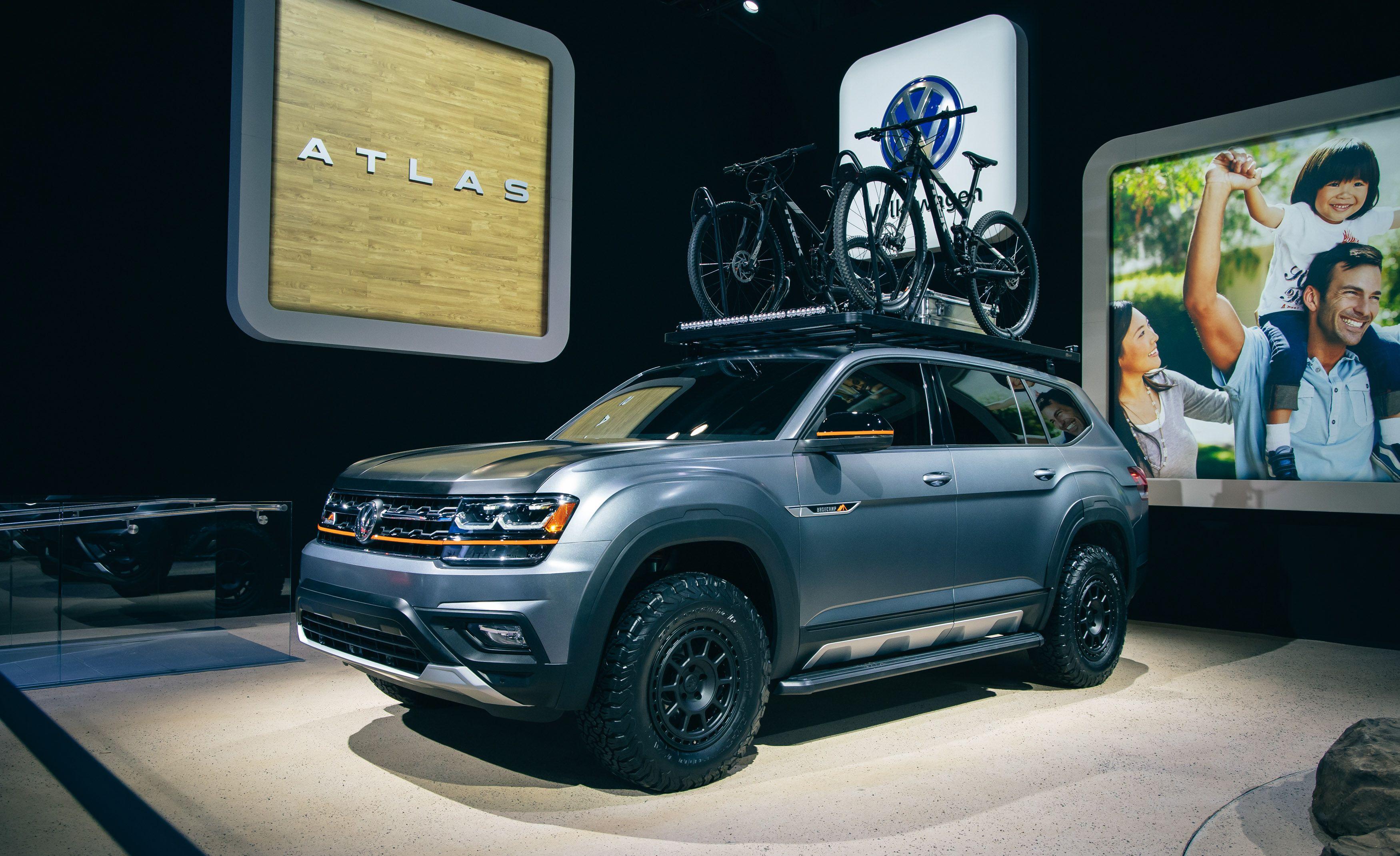 Volkswagen Atlas Basecamp – Off-Road Version of VW's Big SUV