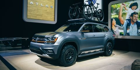 Best Luxury Compact Suv >> Volkswagen Atlas Basecamp – Off-Road Version of VW's Big SUV
