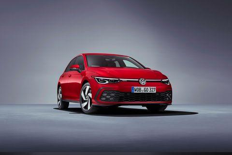 2021 Volkswagen Golf GTI (Euro-spec)