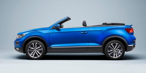 View Photos of the 2020 Volkswagen T-Roc Cabriolet