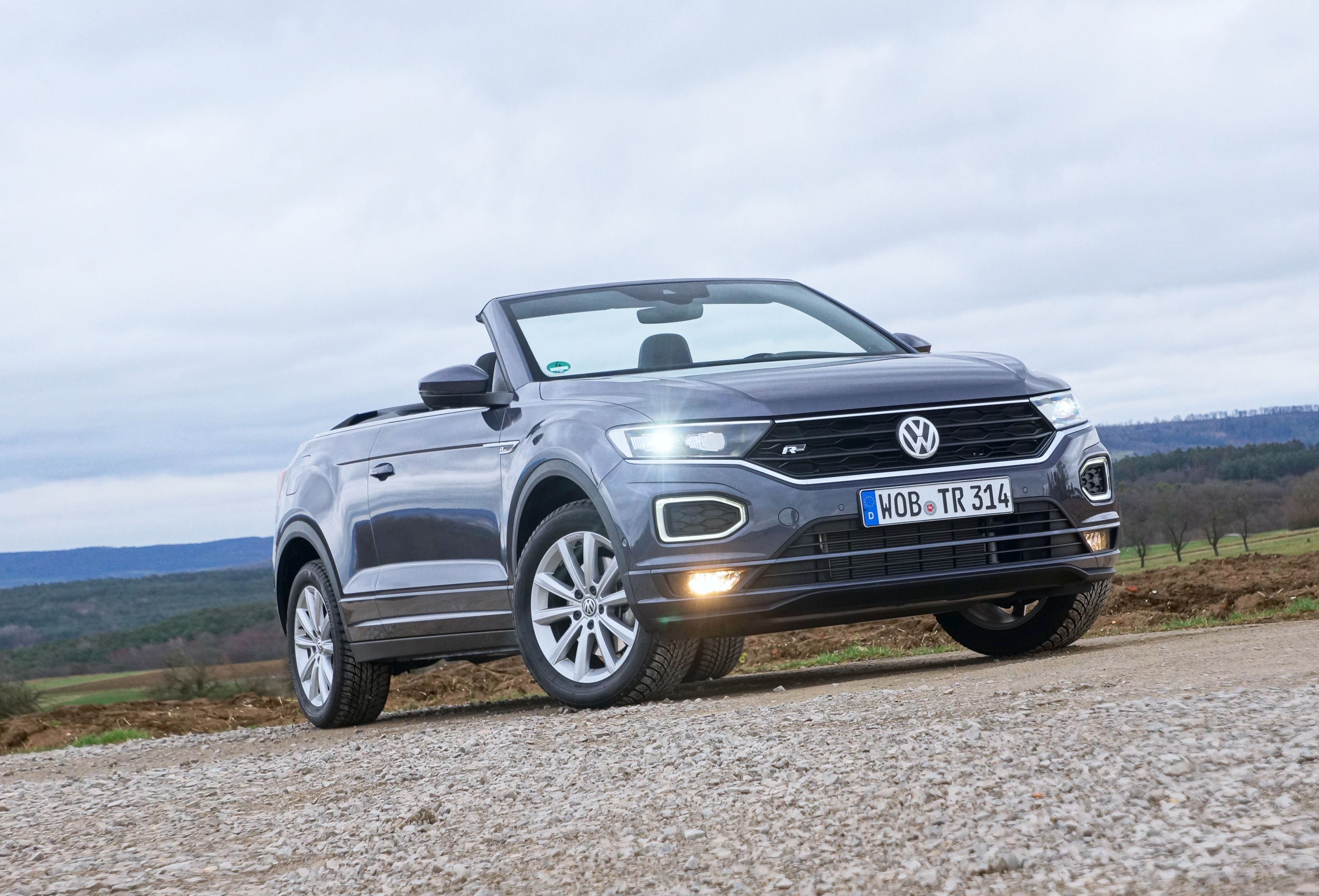 2021 Vw T Roc Cabriolet Is Another Try At The Convertible Suv