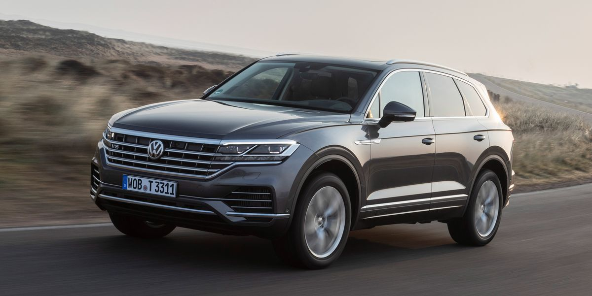 2020 VW Touareg V8 TDI: In Europe, the Diesel Continues to Evolve
