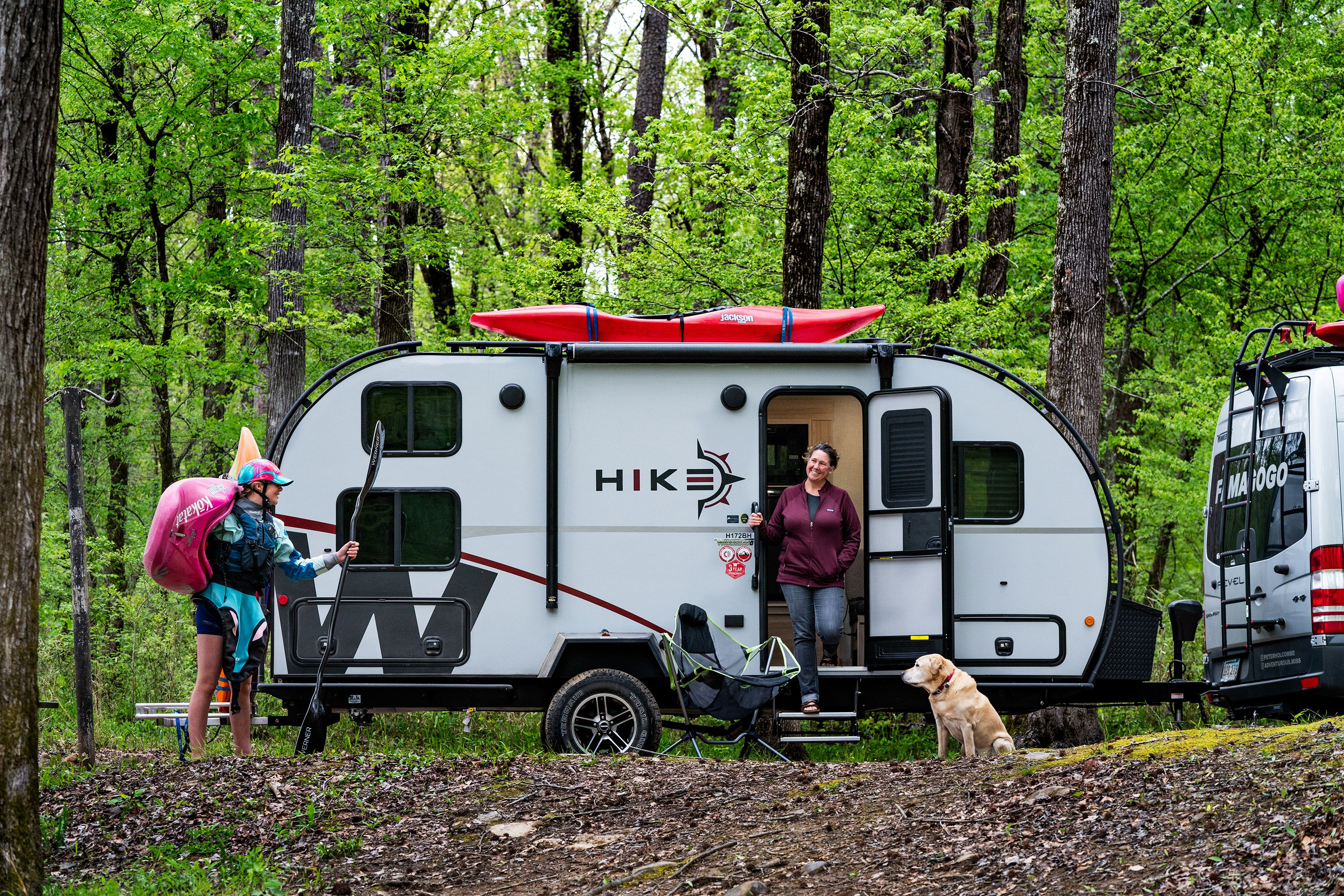 Winnebago Hike Camper Is an Affordable Trailer with an Exoskeleton