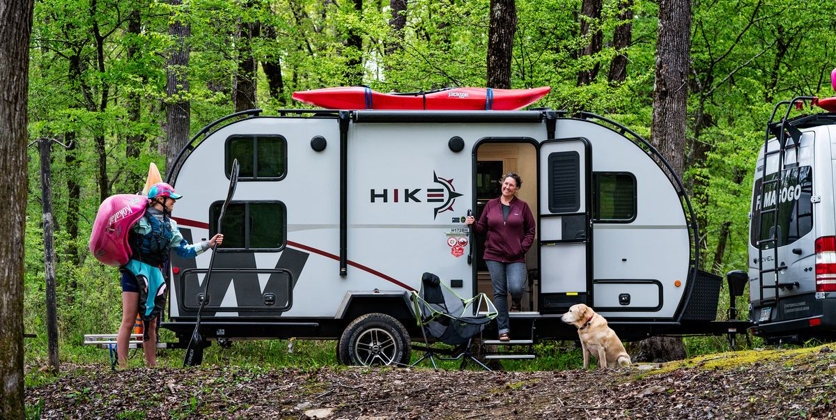 Winnebago's Hike Camper Is an Affordable Trailer with an Exoskeleton