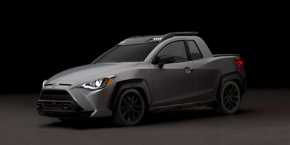 2020 Toyota Yaris Adventure – Tiny Pickup Truck Makes ...