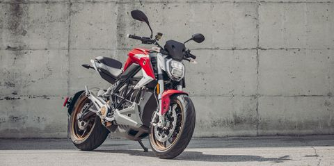 View Every Angle of the 2020 Zero SR/F Electric Motorcycle