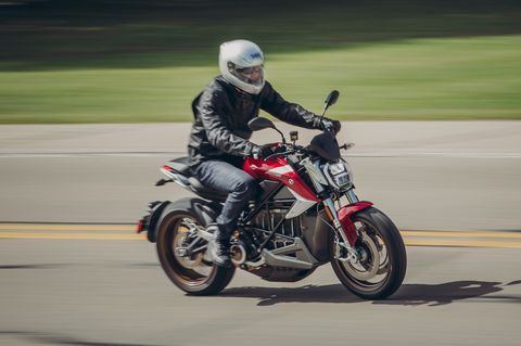 The Electric 2020 Zero SR/F Reboots the Motorcycle Experience