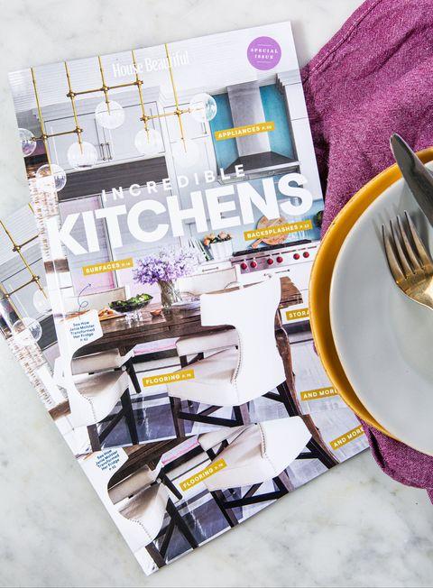 House Beautiful Incredible Kitchens Bookazine